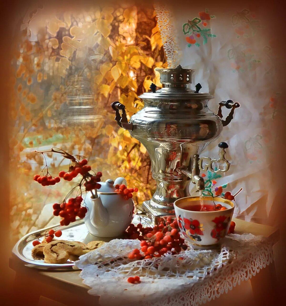 папа вечерний чай ретро картинка так итальянски звучит
