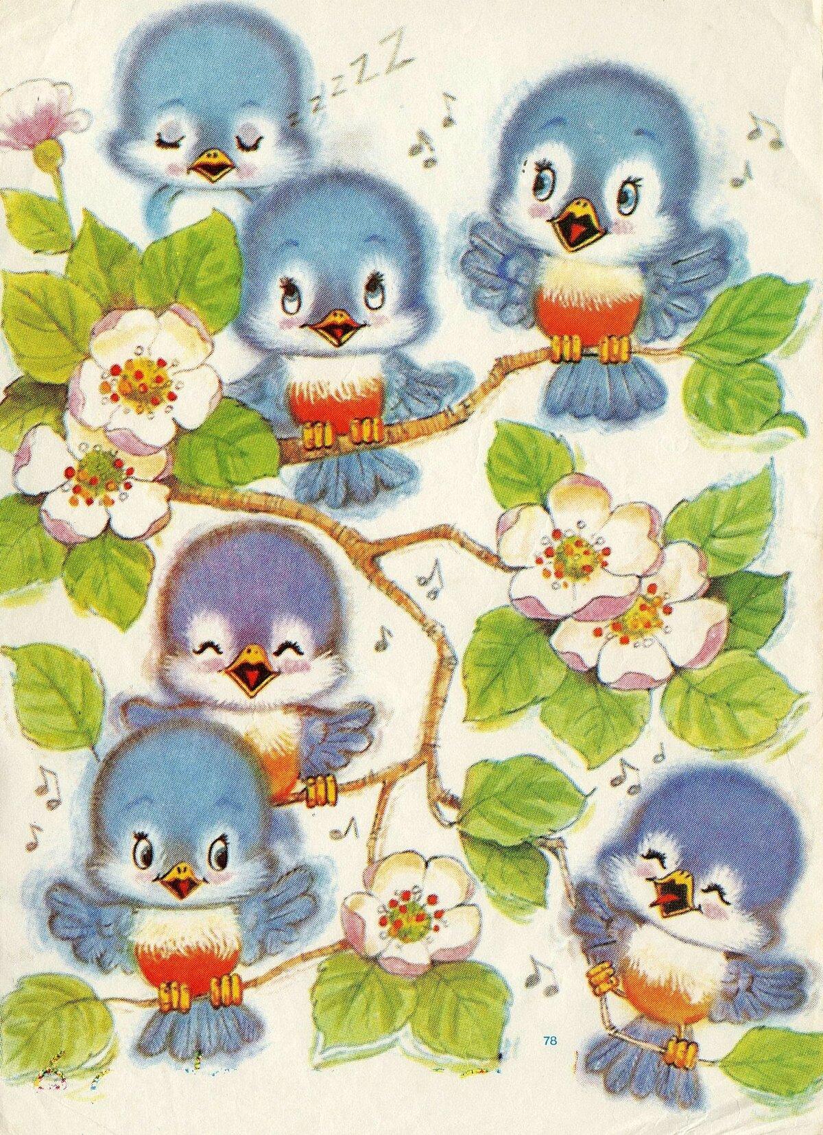 Картинка птенчиков для детей