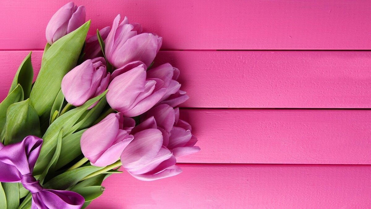 Днем, фон поздравления с 8 марта