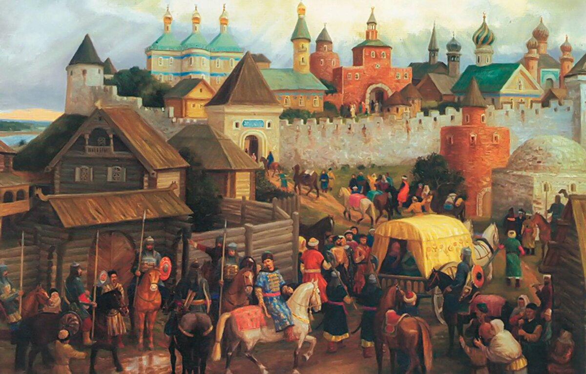 Картинка киевская русь, пресвятой богородицей