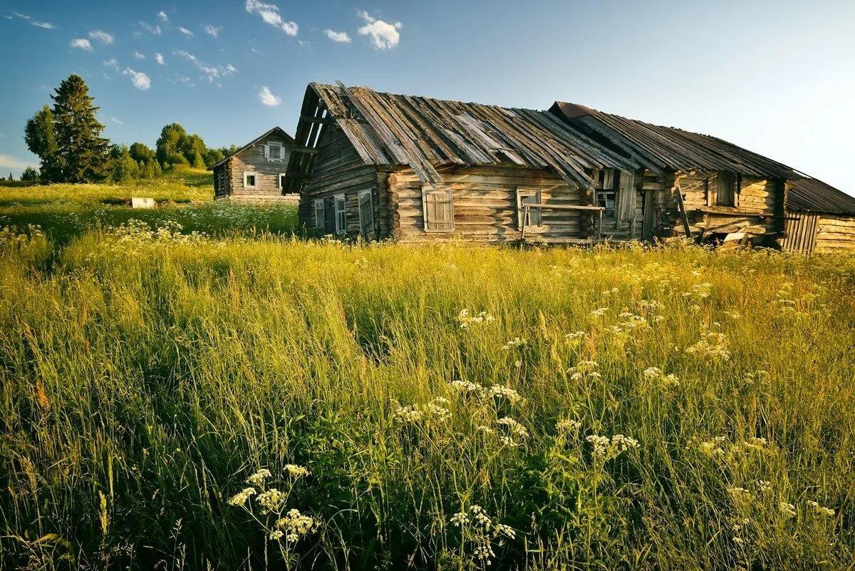 сельские пейзажи фото в большом разрешении истории