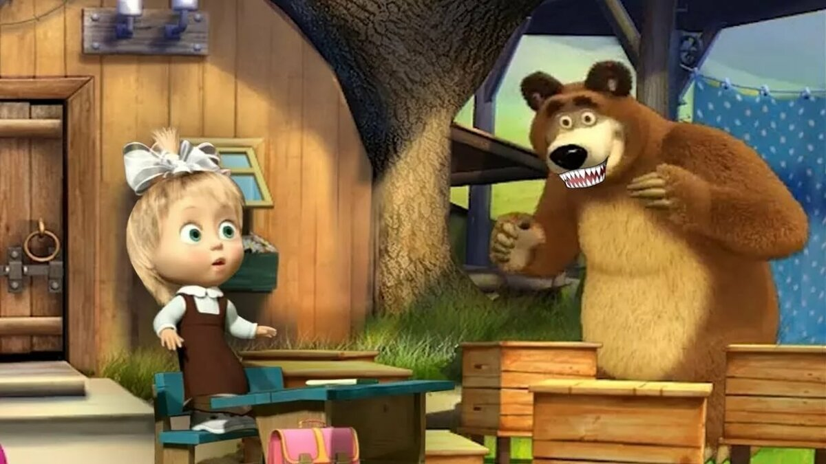 Все картинки про машу и медведя все серии