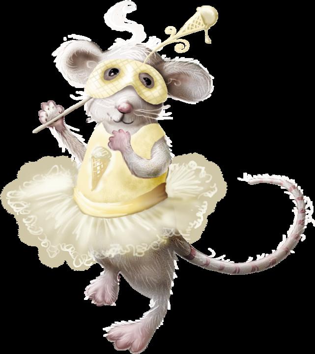 Забавные рисунки мышей