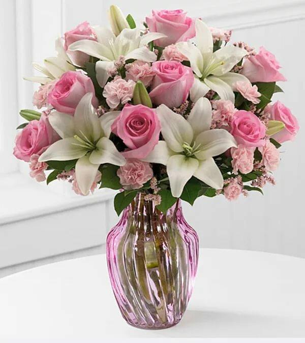 прошла лилии картинки розовые розы целью селекционеров
