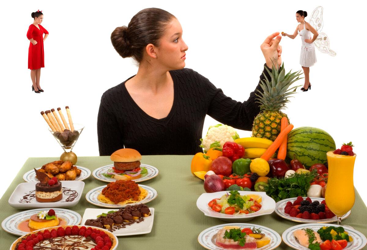 картинка еда с человеком схема или