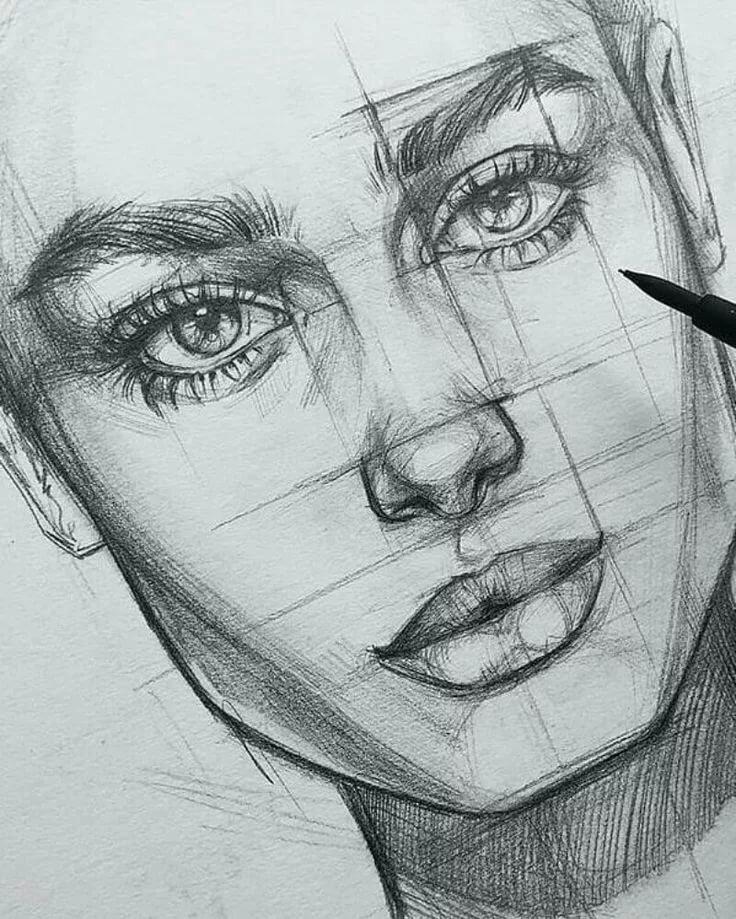 разделе картинки для рисования портреты днем финансиста для