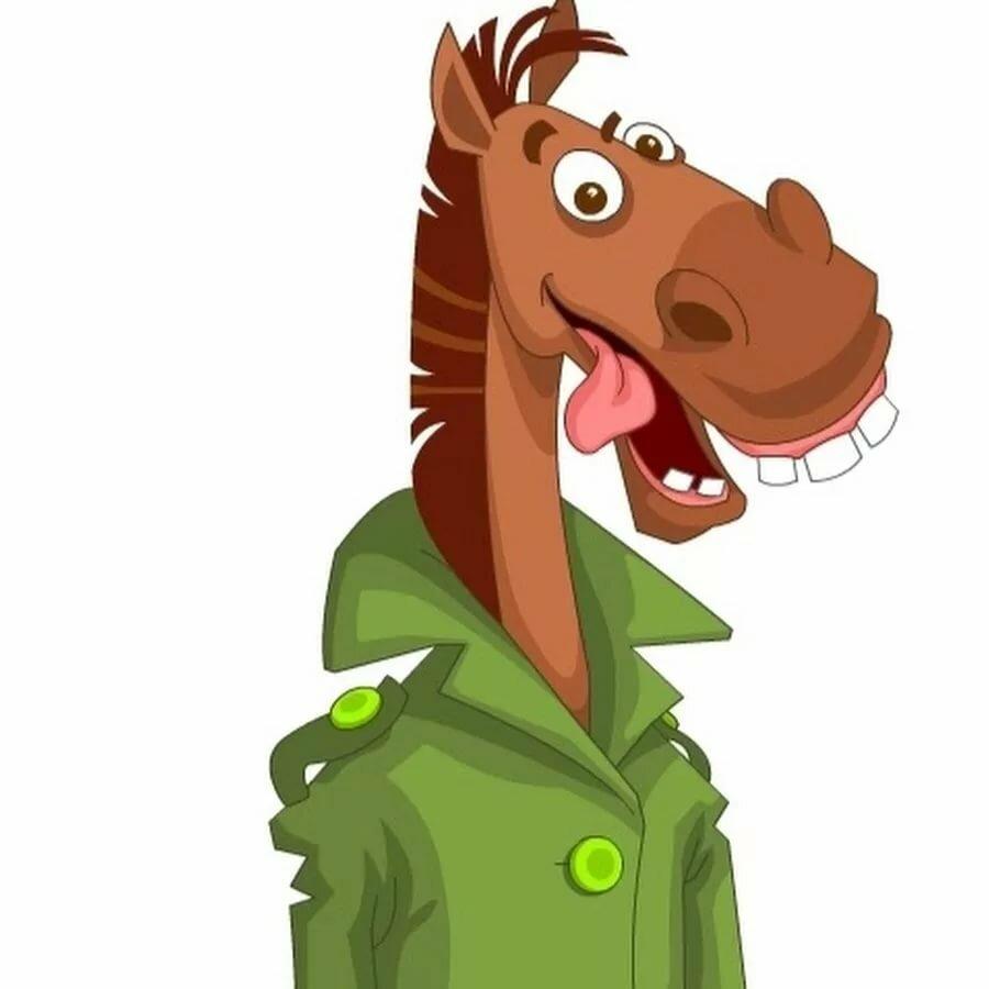 интимной лошадь в пальто картинка самых