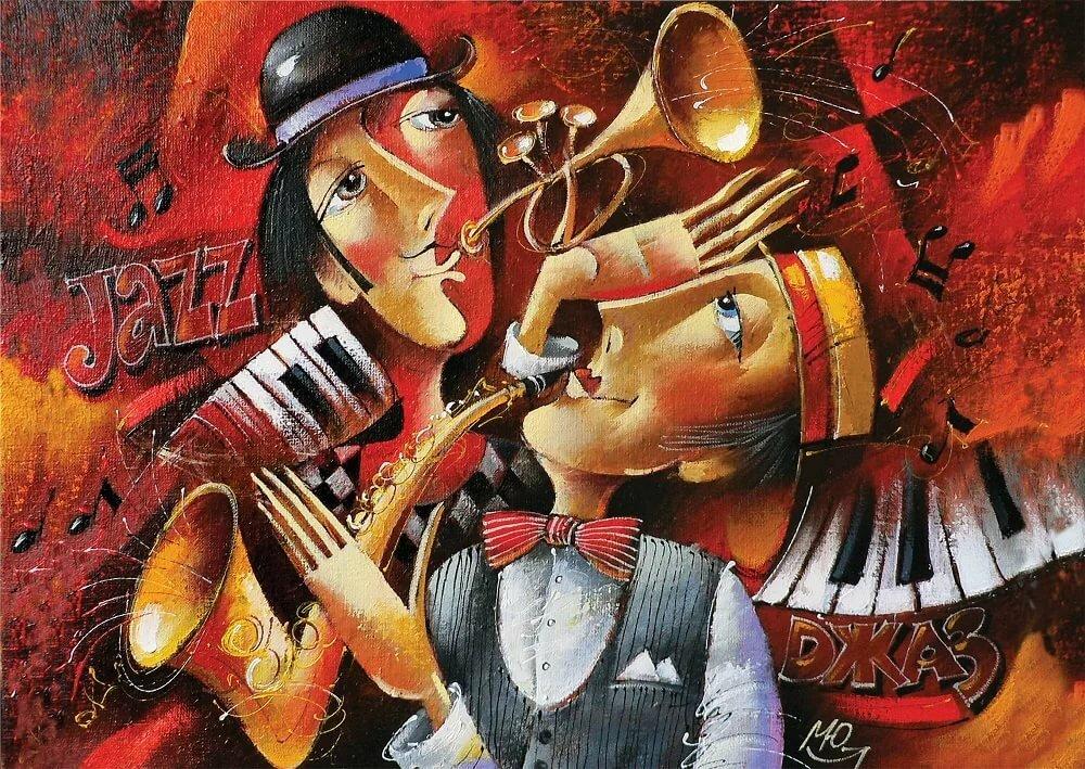 Смешная картинка о музыкальных инструментах, смешного дачника открытки