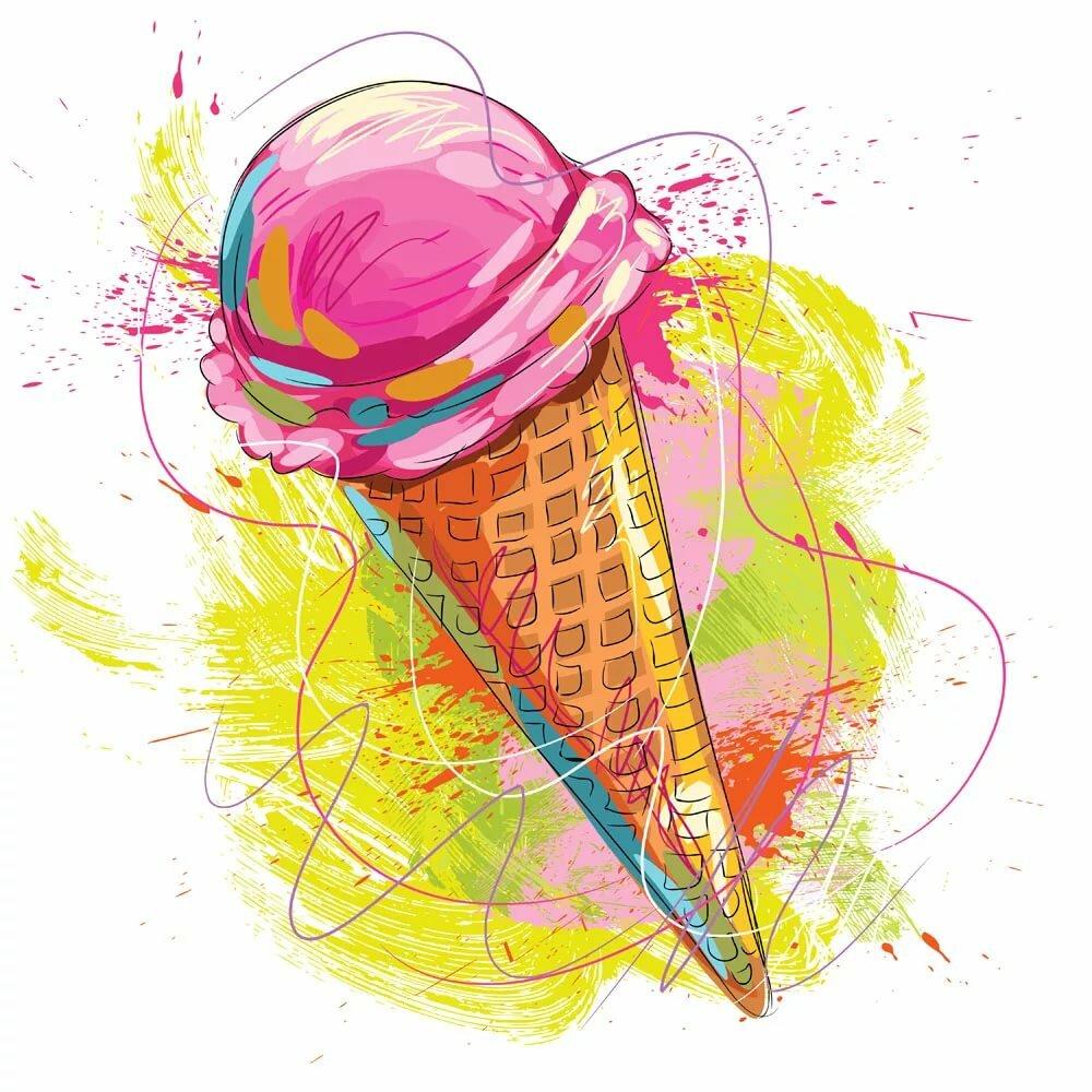 картинки мороженого на рисование год состоялся релиз