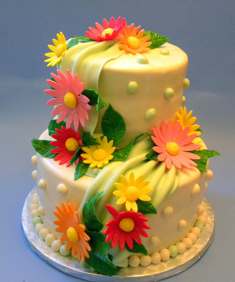 Торт с днем рождения женщине красивые фото, яркие