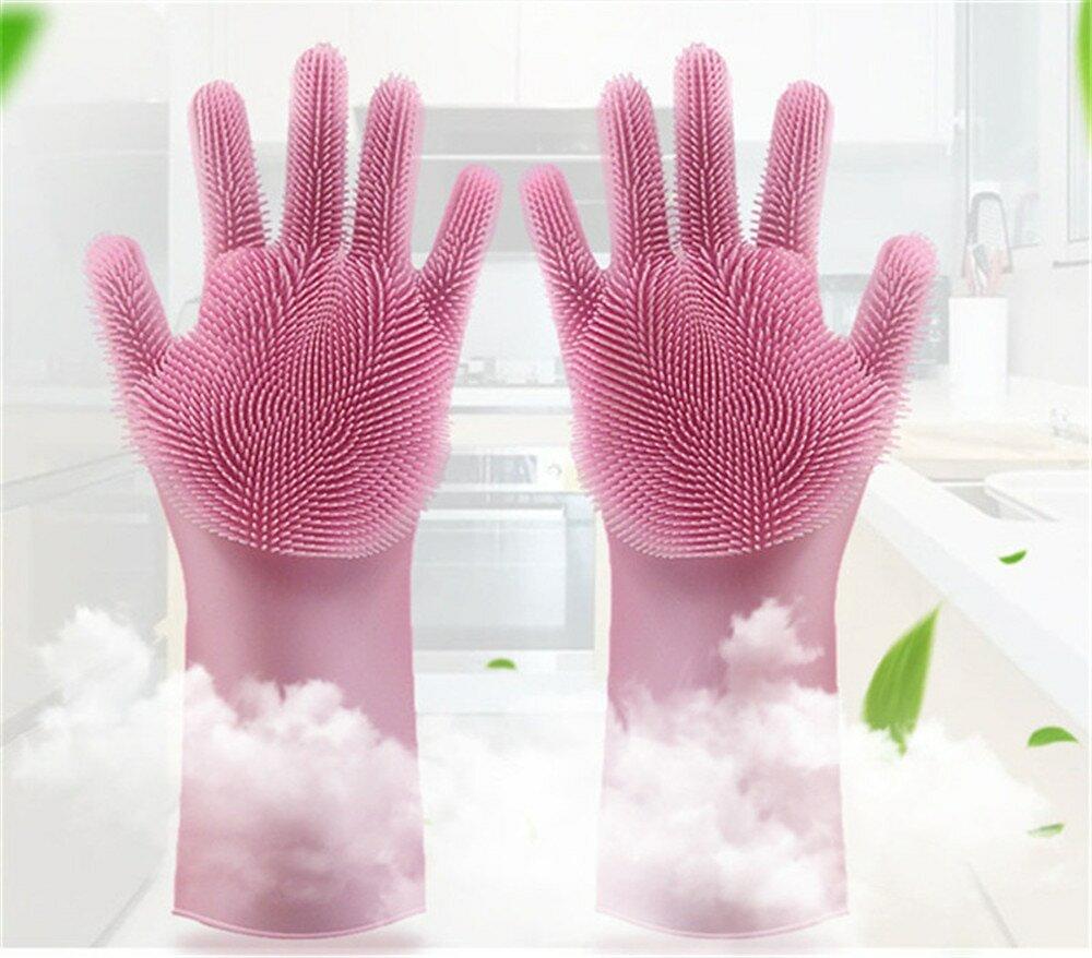 Перчатки-губки Magic Brush в Магнитогорске