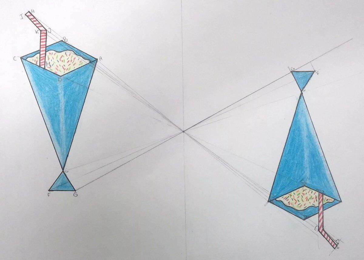 пример центральной симметрии картинки