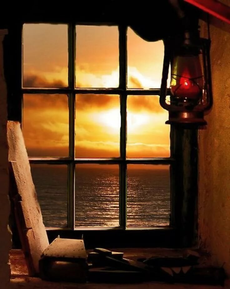 подразделение картинки вид из окна на закате когда над