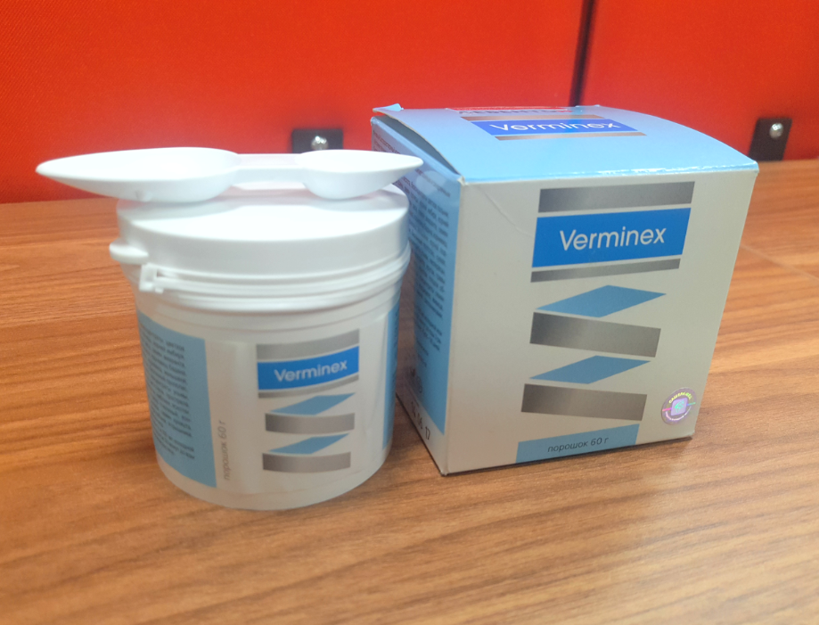 Verminex от паразитов в Жуковском