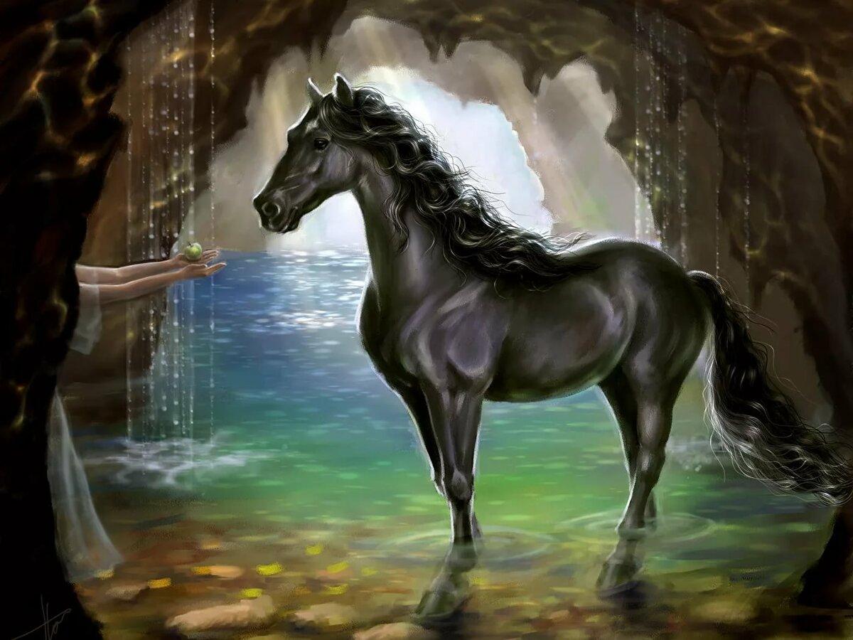 Картинки на рабочий стол лошади красивые фэнтези