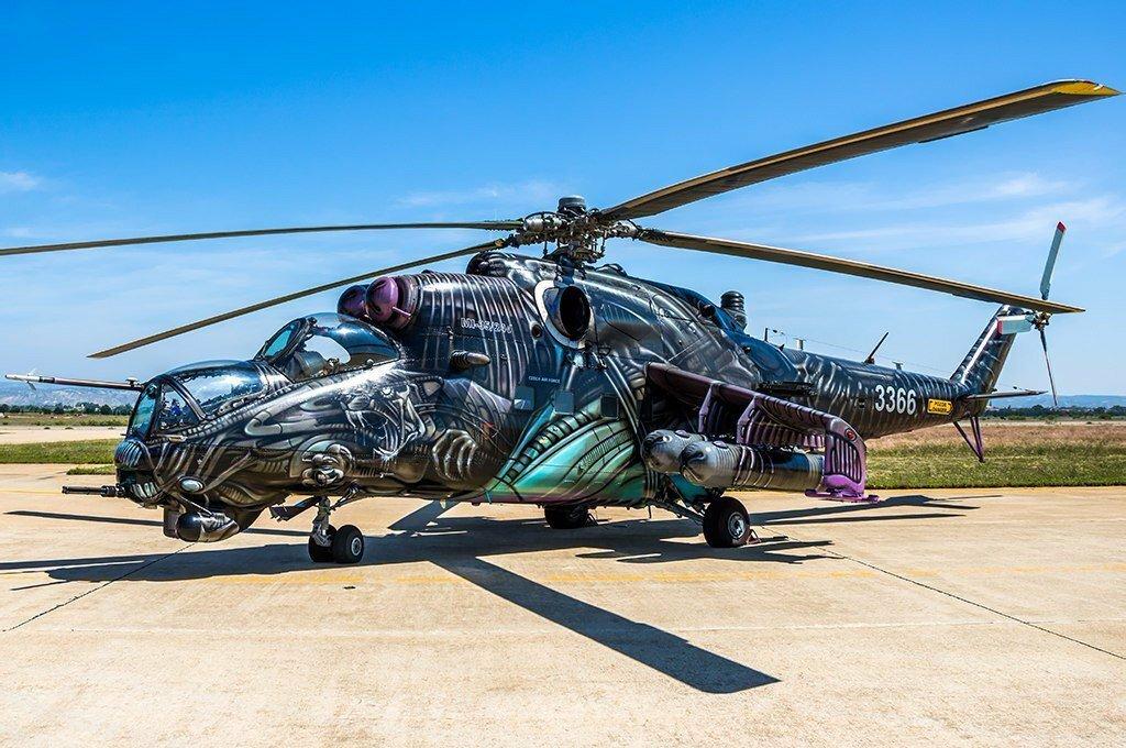 Смешные фото вертолета