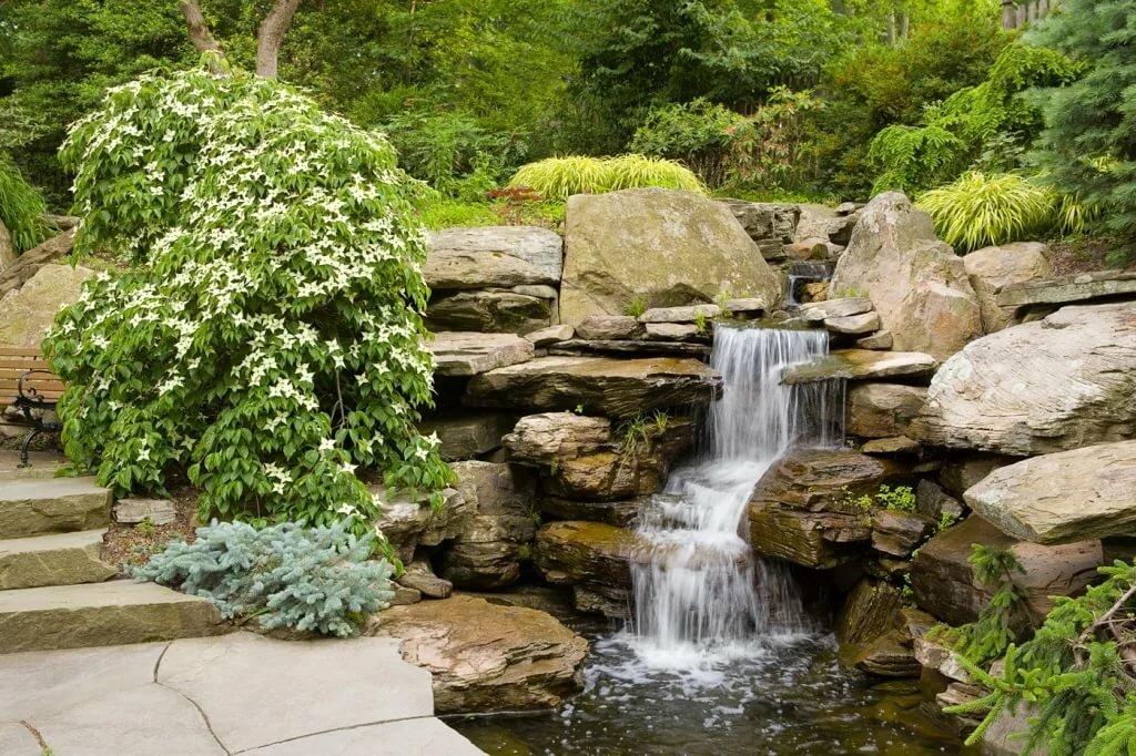 больше всего водопады на садовом участке в картинках просто сделать сад