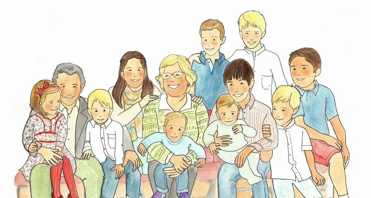 Картинки с изображениями семей
