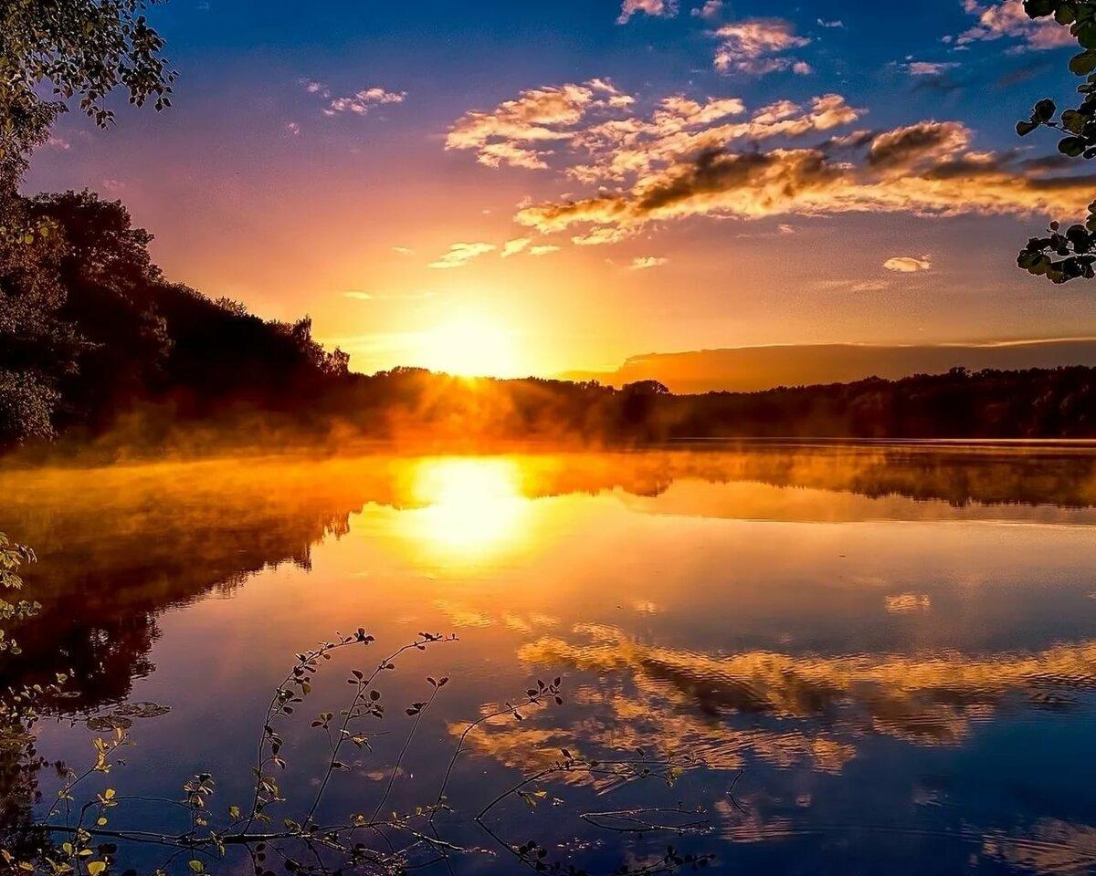 картинку красивый восход солнца на лабе найдено