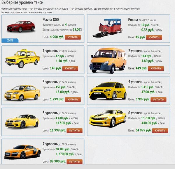 monetary taxi игра с выводом денег