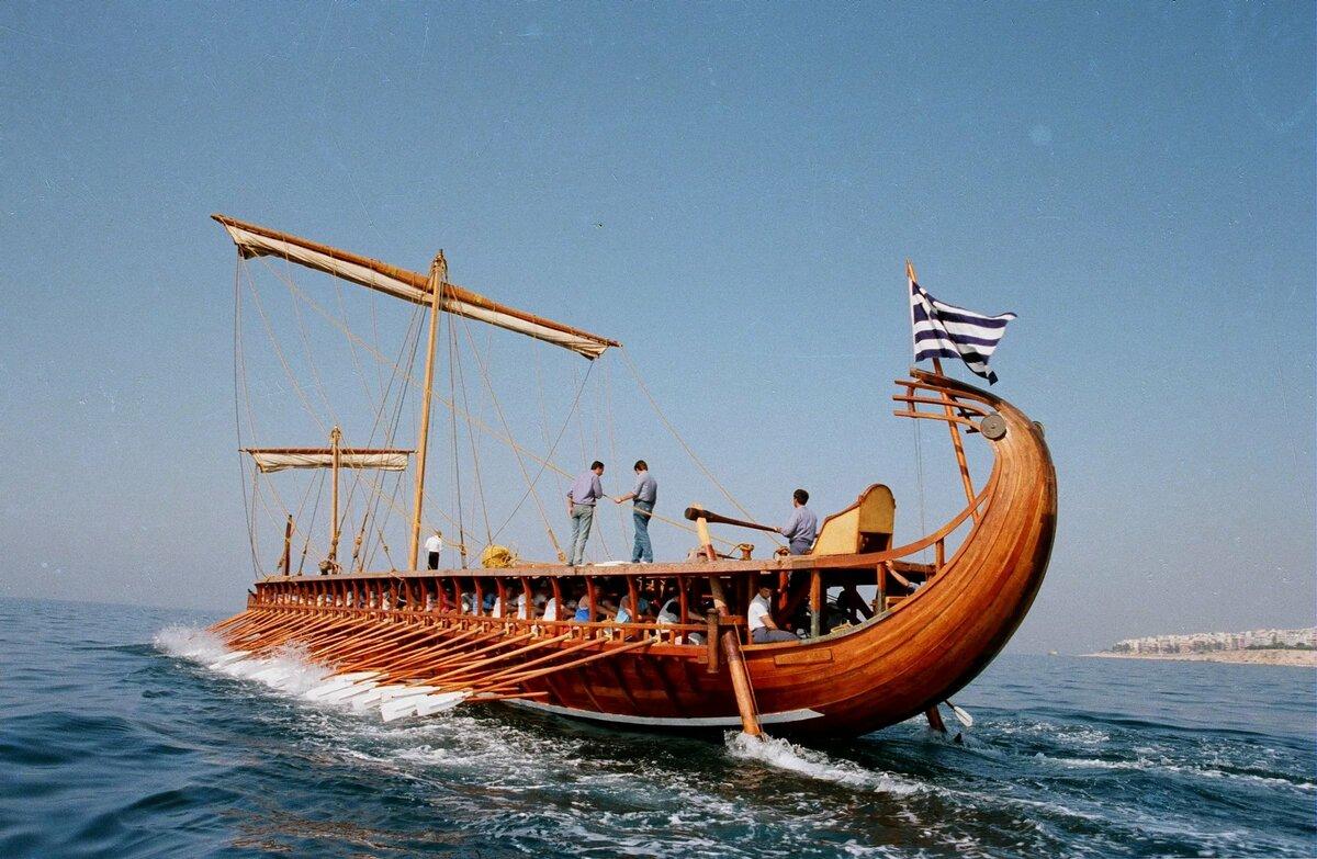 как как называется корабль у древних греков фото тоже разговаривает
