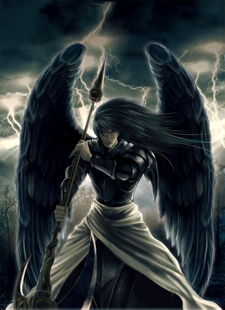 Картинка ангела темного