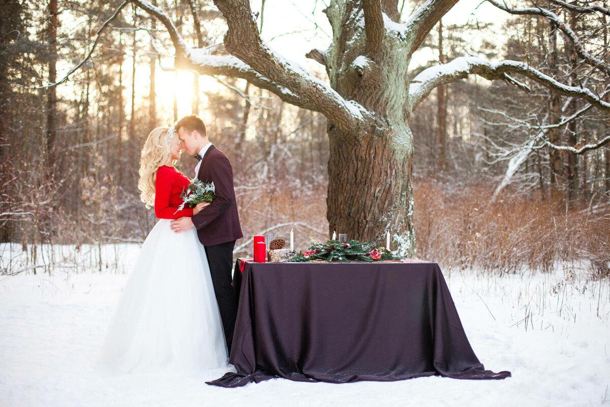 Фото на свадьбу зимнее время тольятти