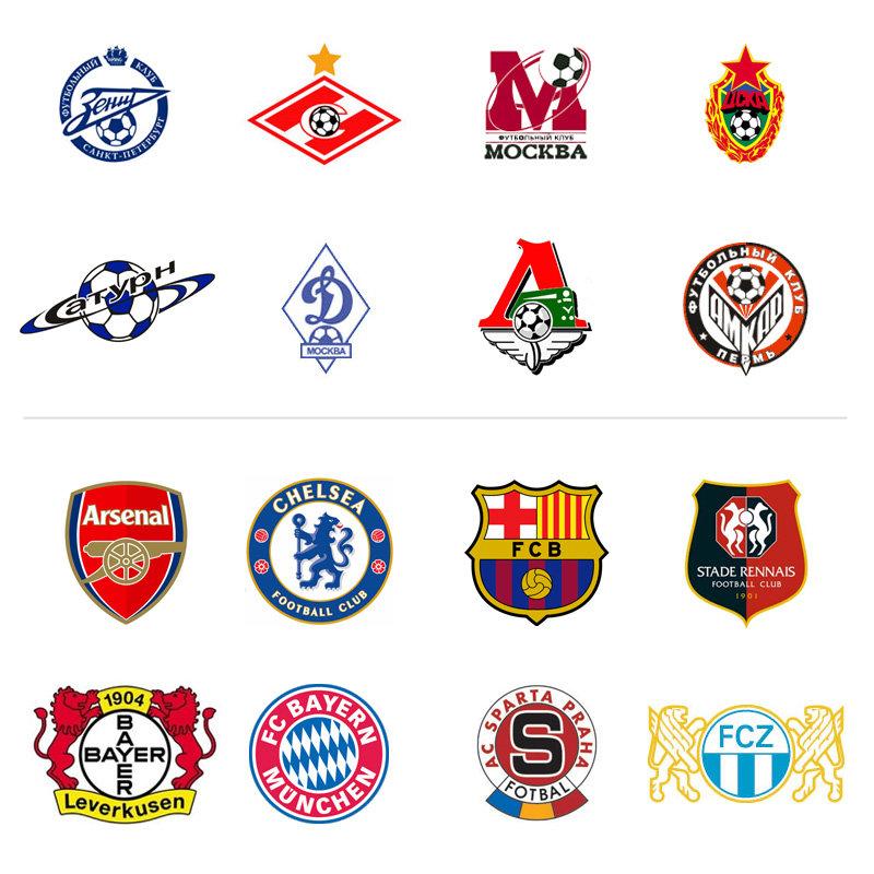 Открытка прикольная, картинки эмблемы футбольных клубов