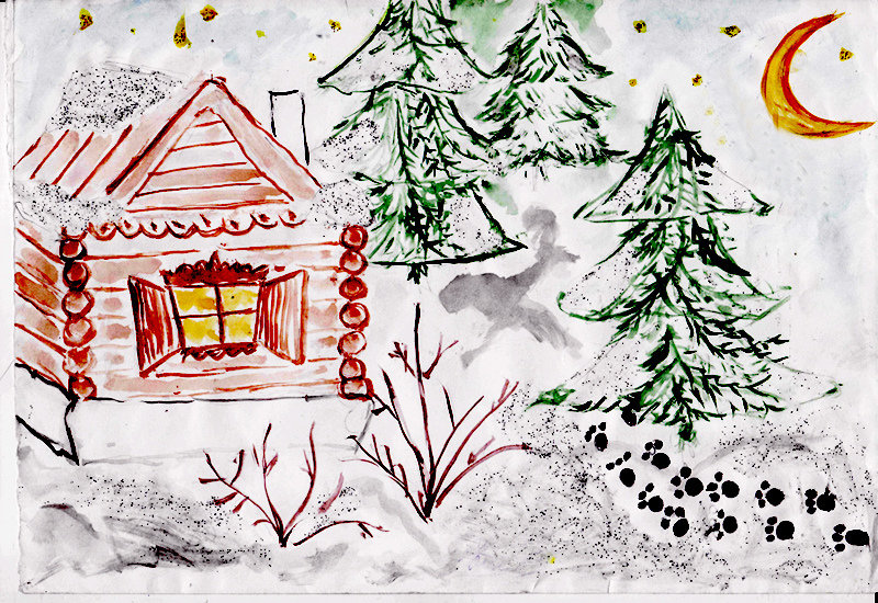 заволжском картинки про зиму поэтапно новая программа