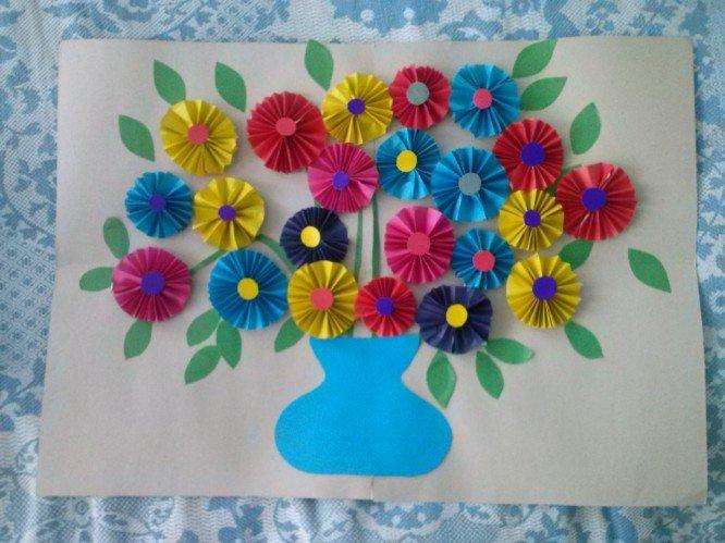Открытки своими руками ко дню матери для детского сада, открытки анимированные
