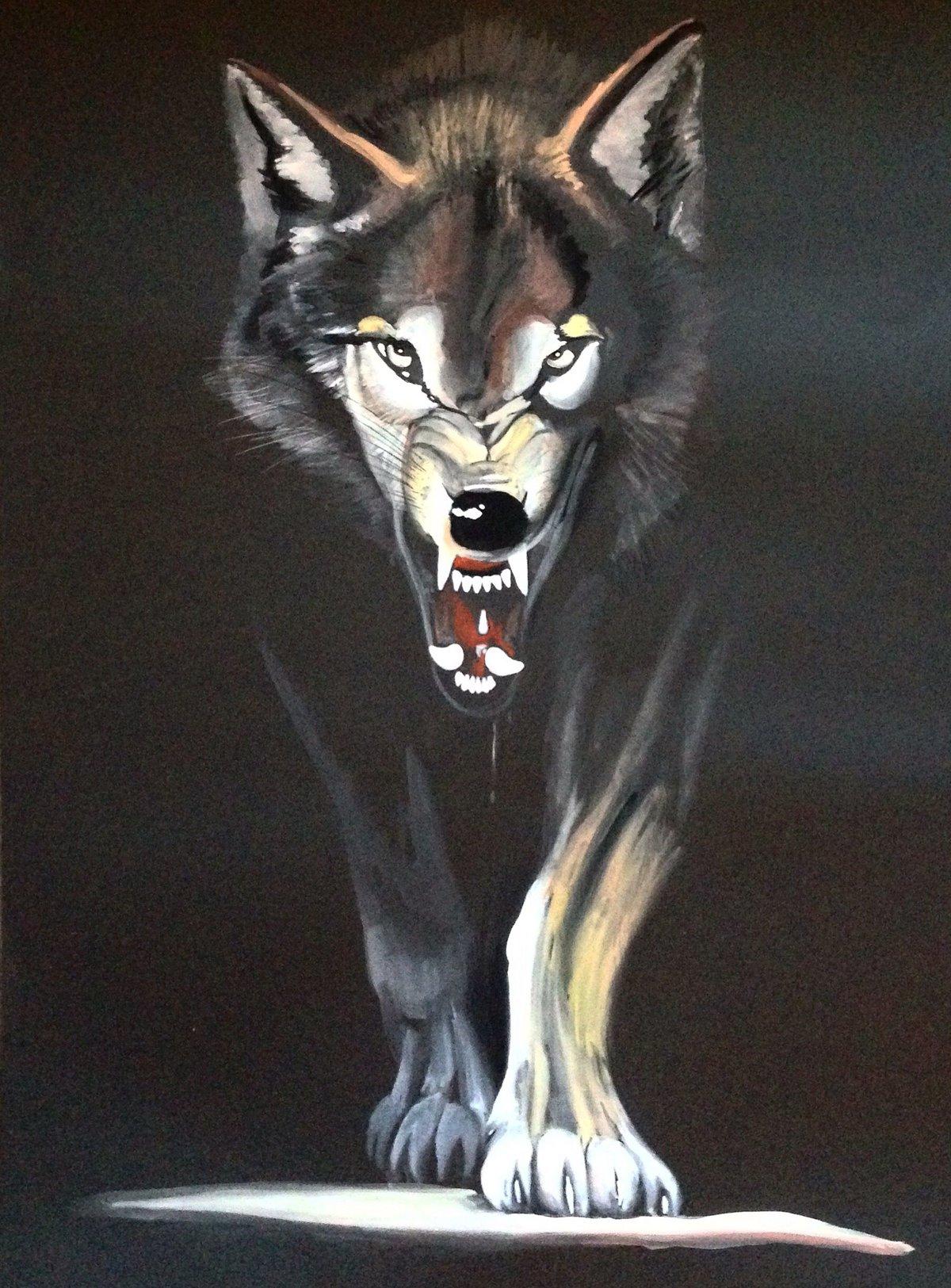 Агрессивный волк картинки