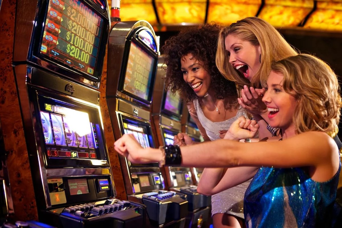 Slot machines play online