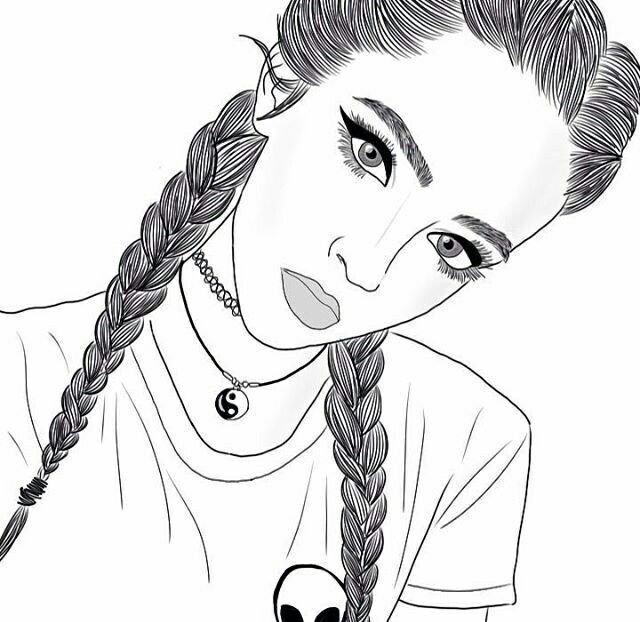 Николой, крутые рисунки карандашом девушек