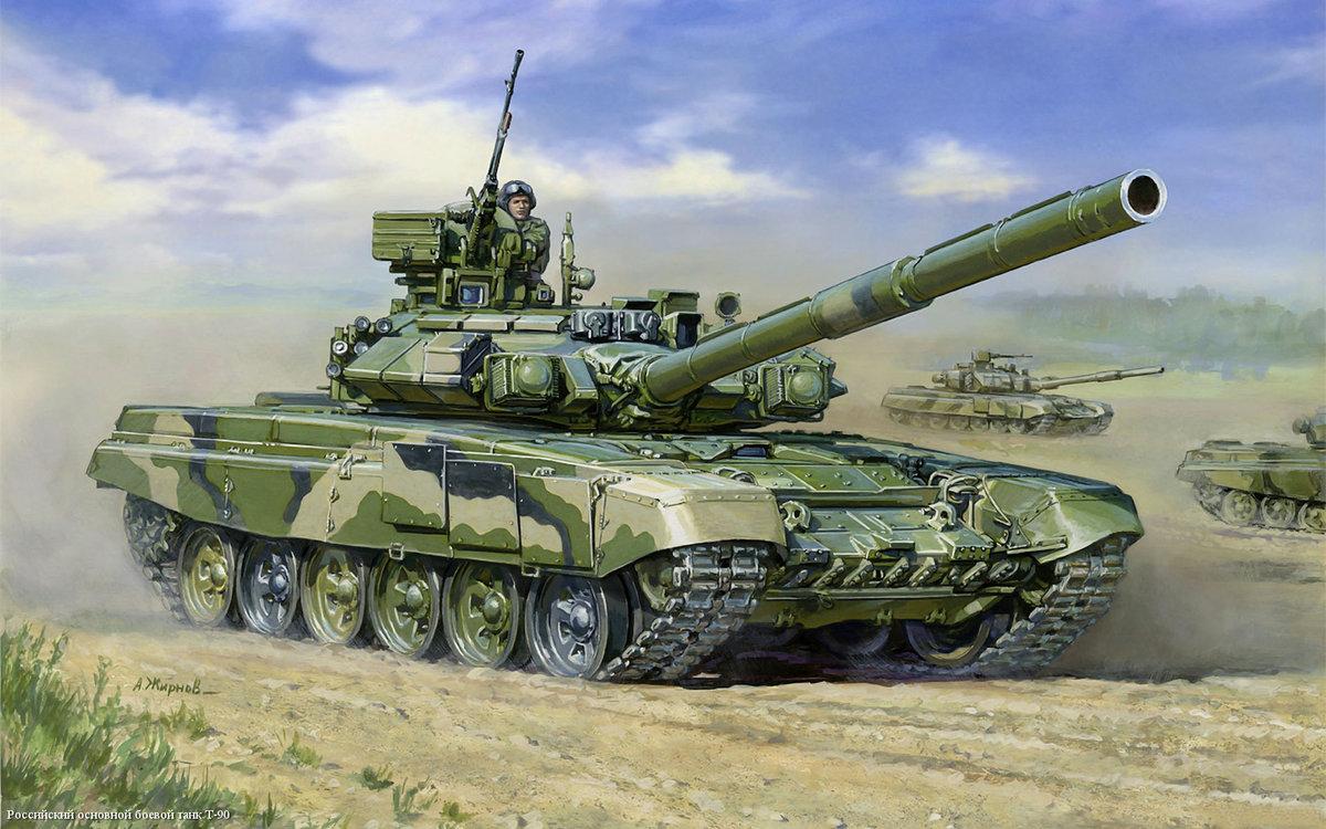 В картинках танк