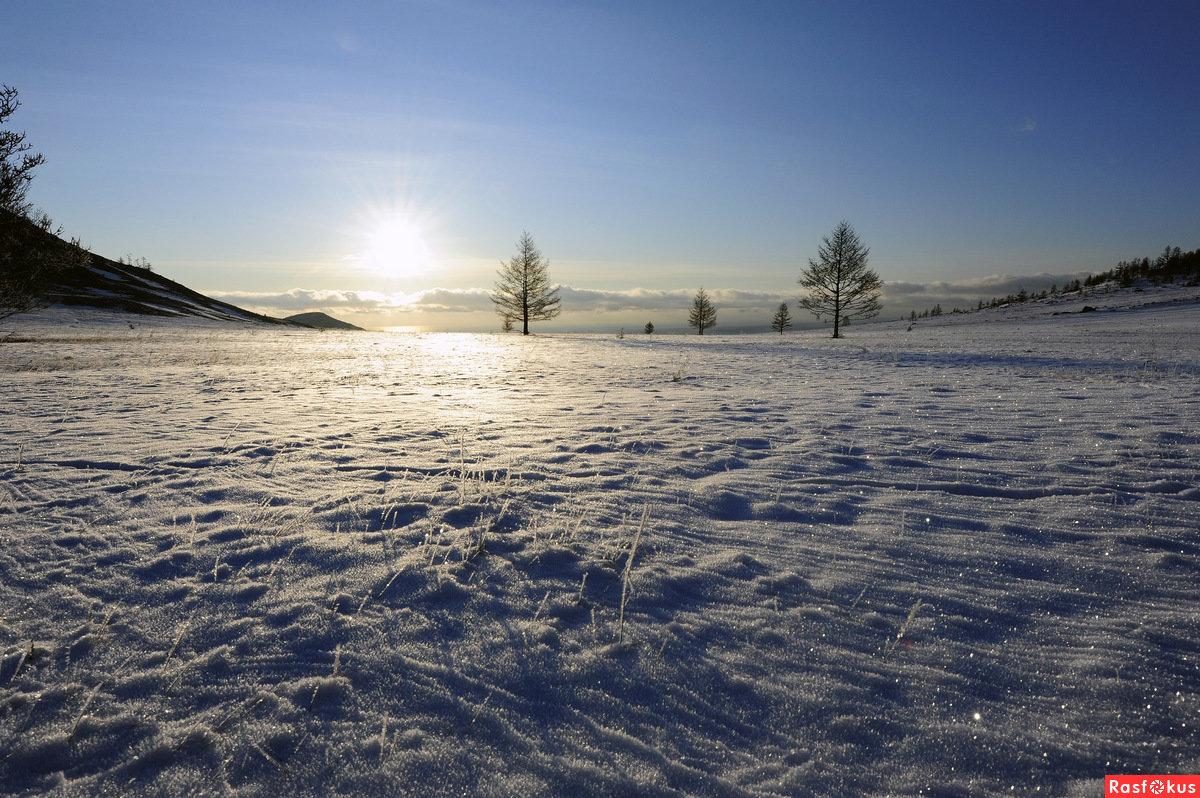 хочу картинки на рабочий стол зимние степи петербургская