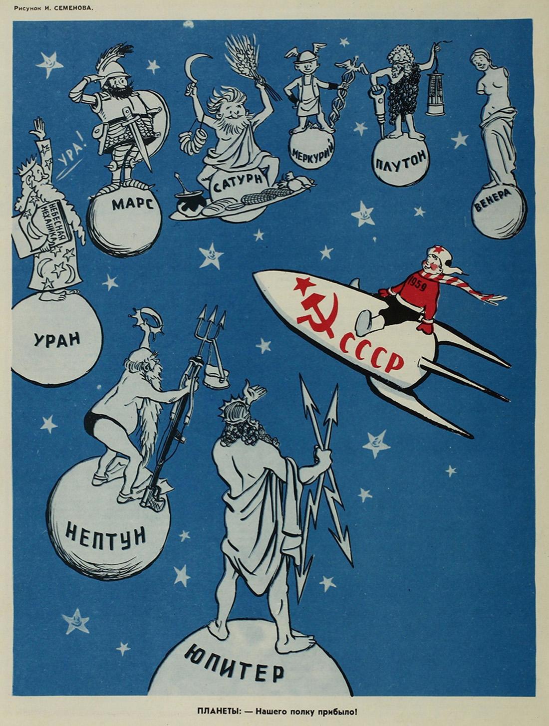 Открытка с днем космонавтики советская, любимая мама