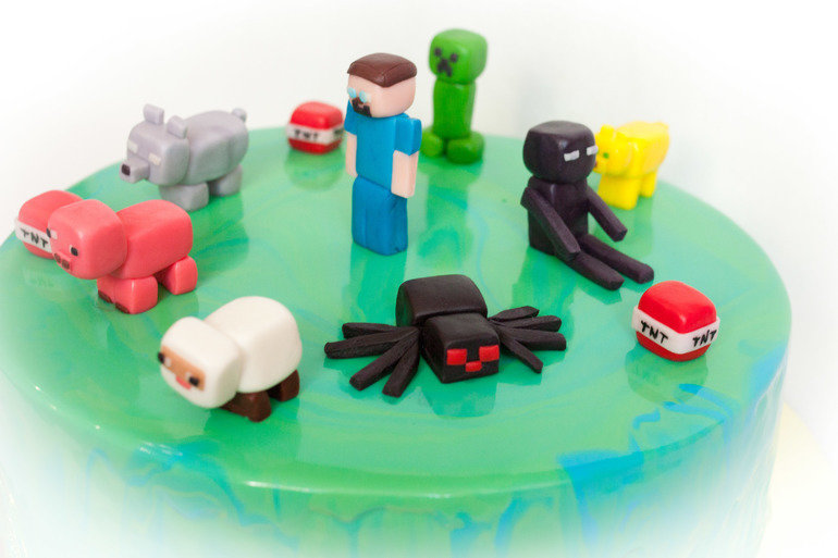 если игрушки майнкрафт из пластилина картинки отличается изумительно чистой
