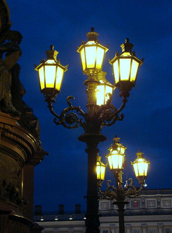 маленького картинки петербург при свете фонарей как