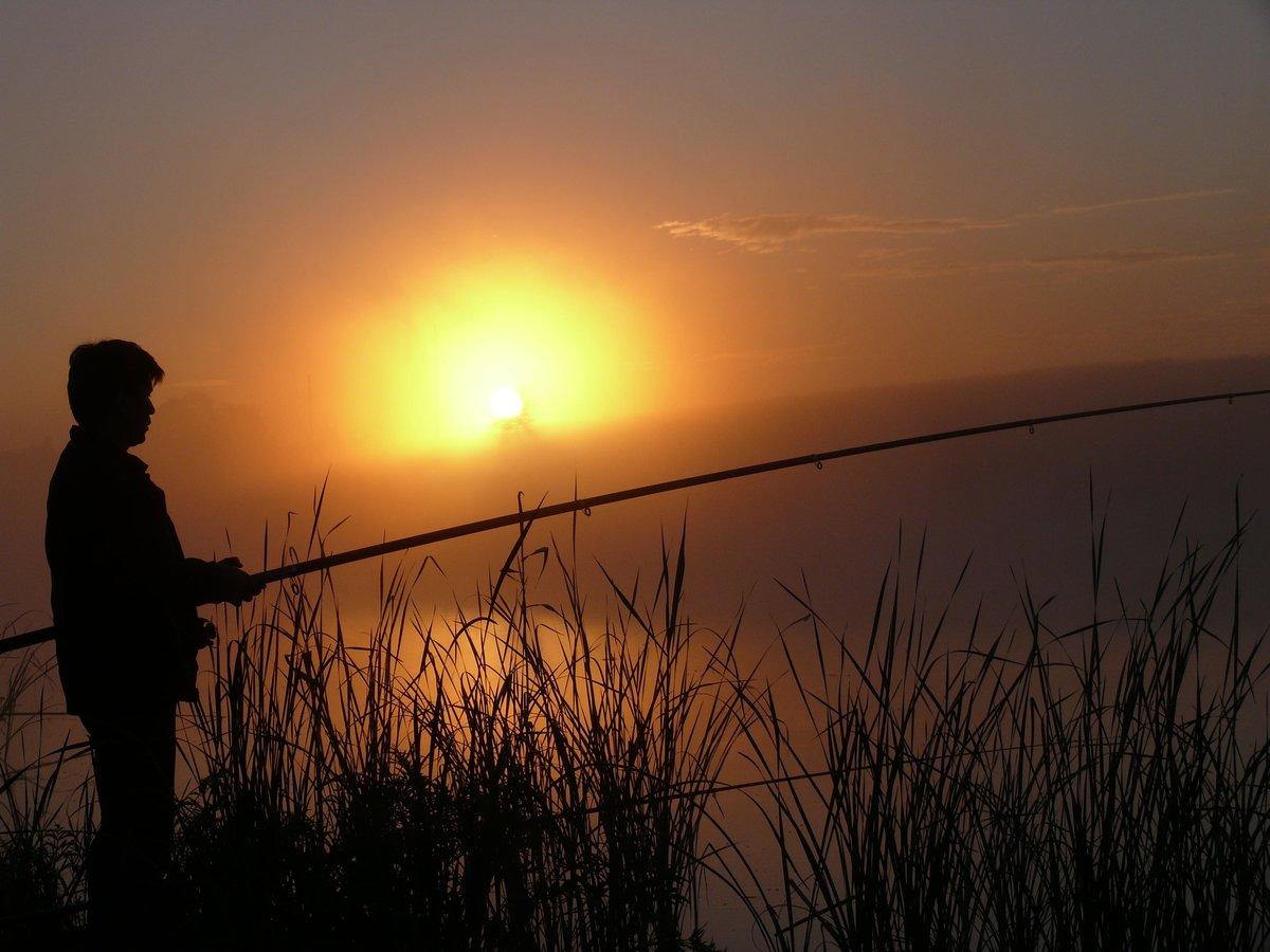 которые картинки рыбалка на рассвете день влюбленных вам