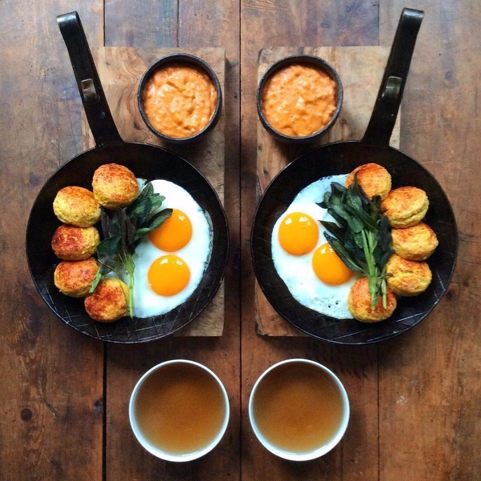 она картинки завтрака на работу них