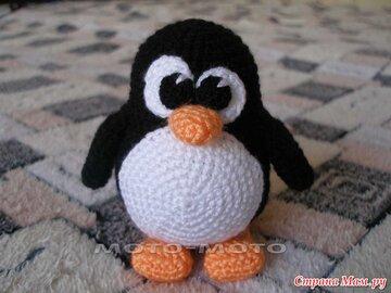 пингвин вязаный крючком карточка пользователя светлана б в