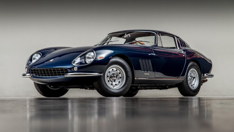 Ferrari 275 — двуÑместный спортивный автомобиль классической компоновки