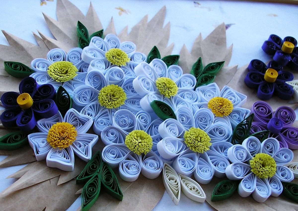 секретно квиллинг букеты цветов с пошаговым фото очень