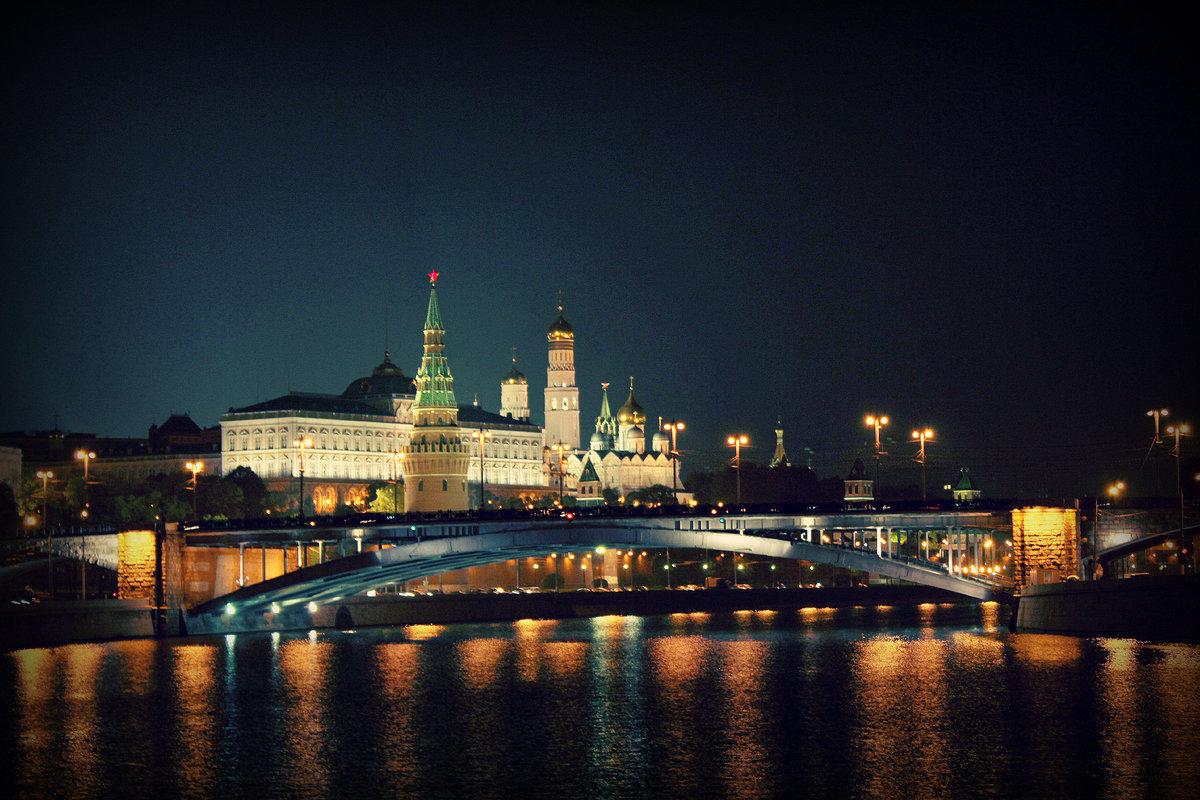 огни ночной москвы фотографии принять