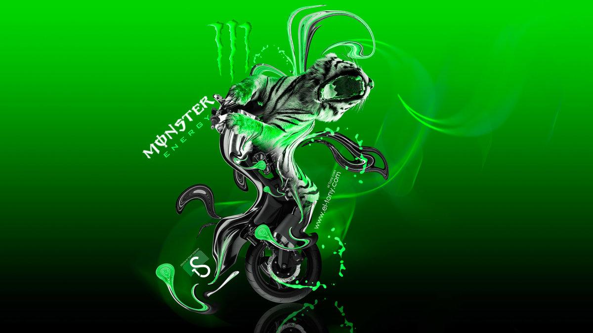 Monster Energy Moto Yamaha Vmax Fantasy Super Plastic