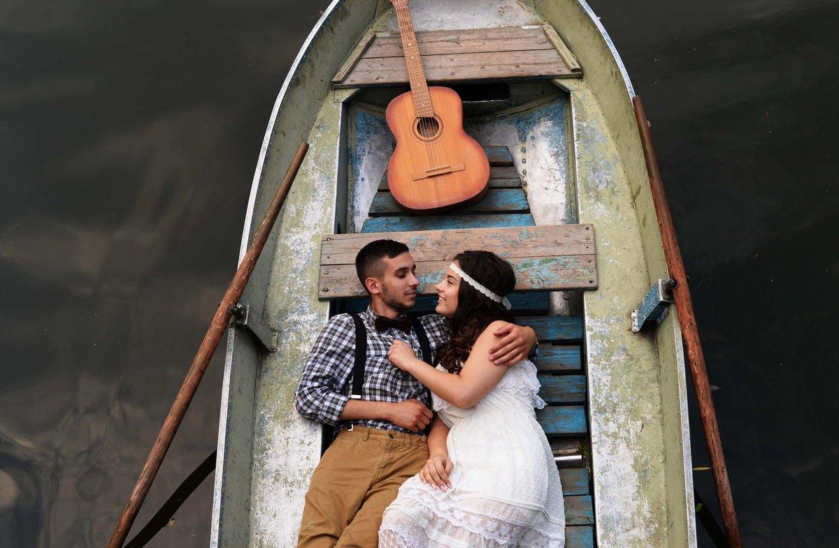 В лодке чердак
