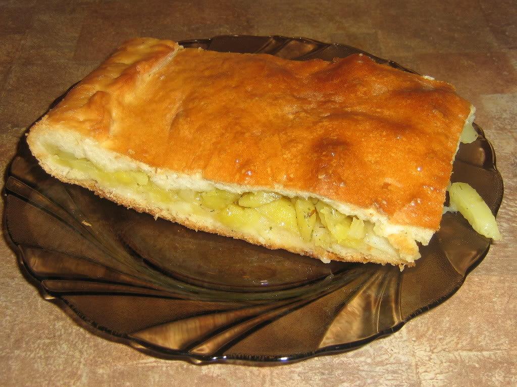 и рецепт картошкой фото пирог с с