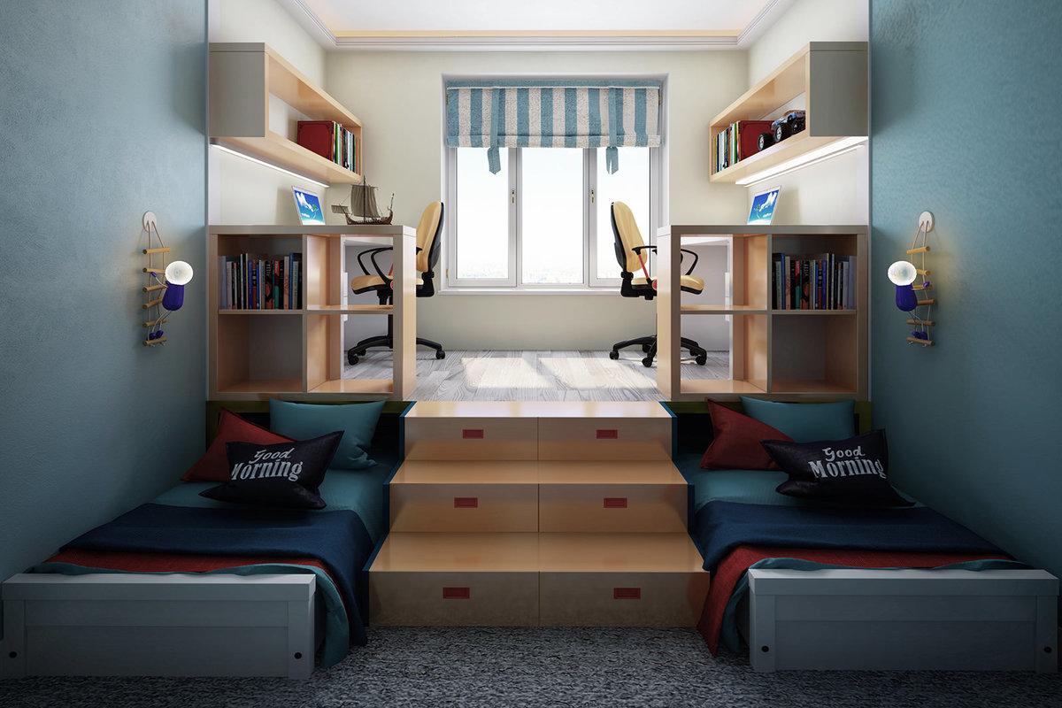 Еще одно фото вид сверху на переднюю часть кровати.