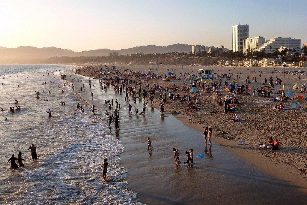 картинки пляж лос-анджелеса большой выбор вафельных