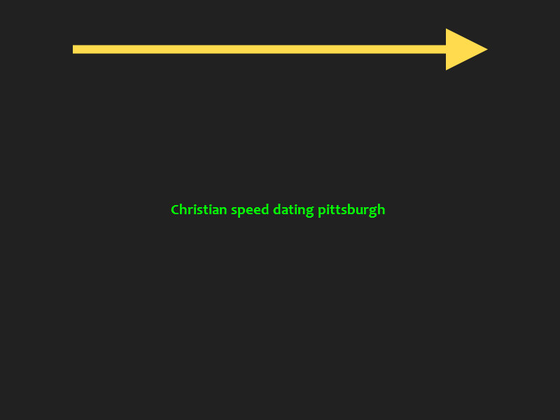 speed dating in pittsburgh